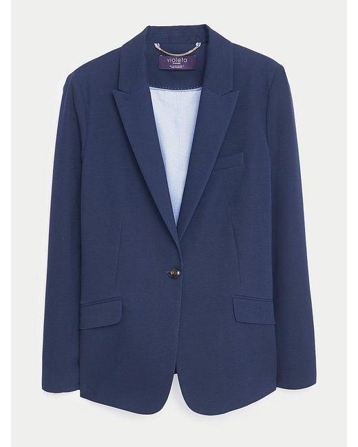 Пиджаки Violeta by Mango                                                                                                              синий цвет