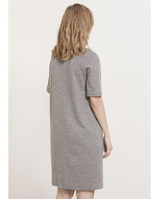 Платья Violeta by Mango                                                                                                              коричневый цвет