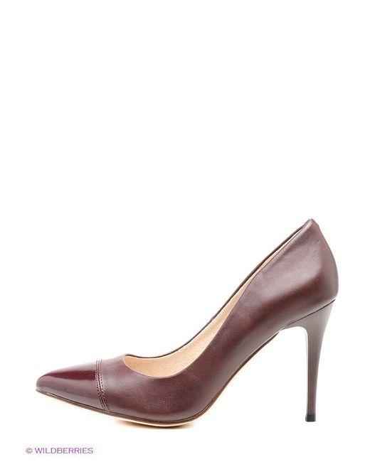 Туфли J&Elisabeth                                                                                                              красный цвет