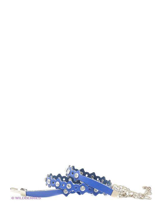 Ремни Vittorio richi                                                                                                              синий цвет