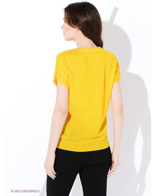 Кофточка Vis-a-Vis                                                                                                              желтый цвет