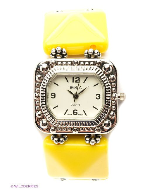 Часы Bora                                                                                                              желтый цвет