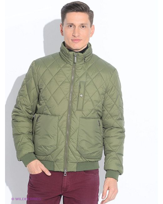 Куртки Geox                                                                                                              Оливковый цвет