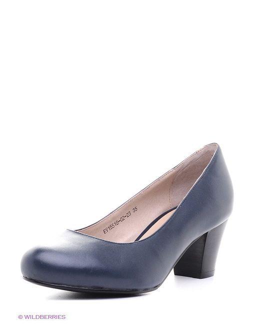 Туфли Evita                                                                                                              синий цвет