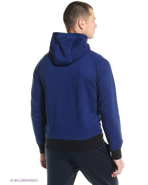 Толстовки Nike                                                                                                              синий цвет