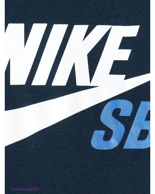 Футболка Nike                                                                                                              синий цвет