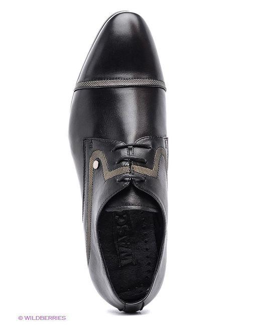 Туфли Wasco                                                                                                              чёрный цвет