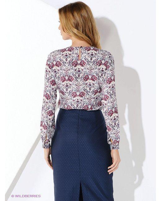 Блузки KEY FASHION                                                                                                              фиолетовый цвет
