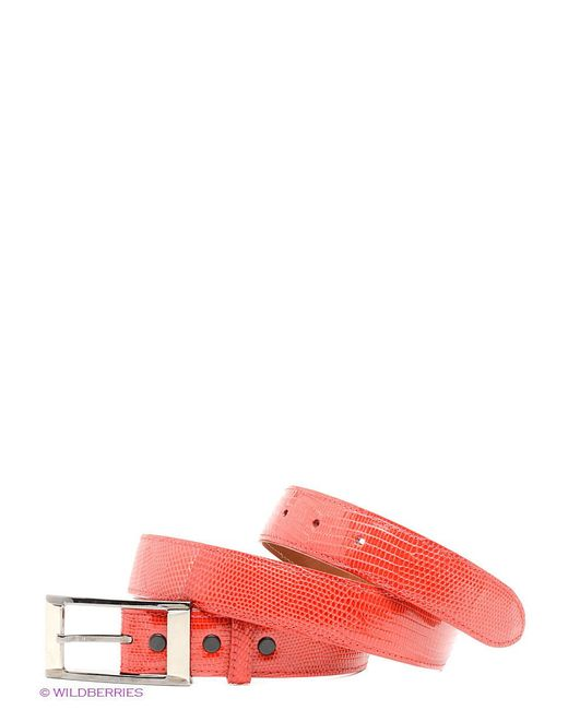 Ремни Pan American leather                                                                                                              красный цвет