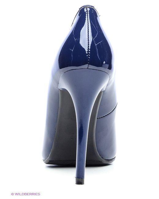 Туфли Makfine                                                                                                              синий цвет