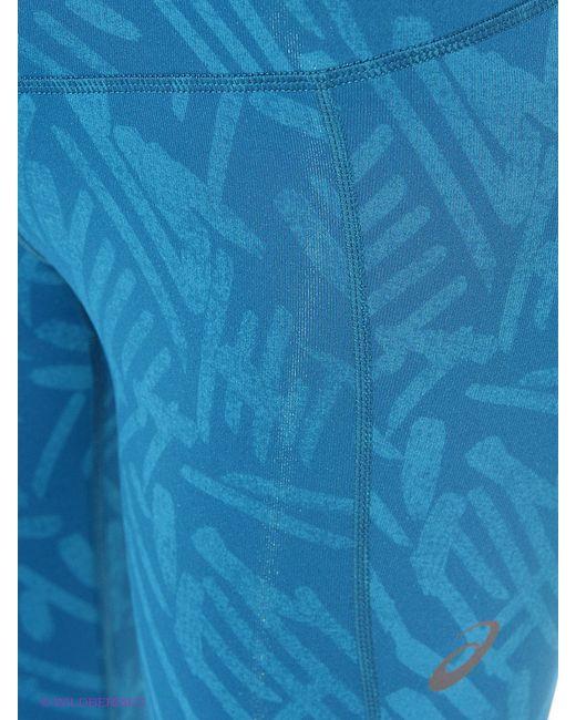Леггинсы Asics                                                                                                              синий цвет