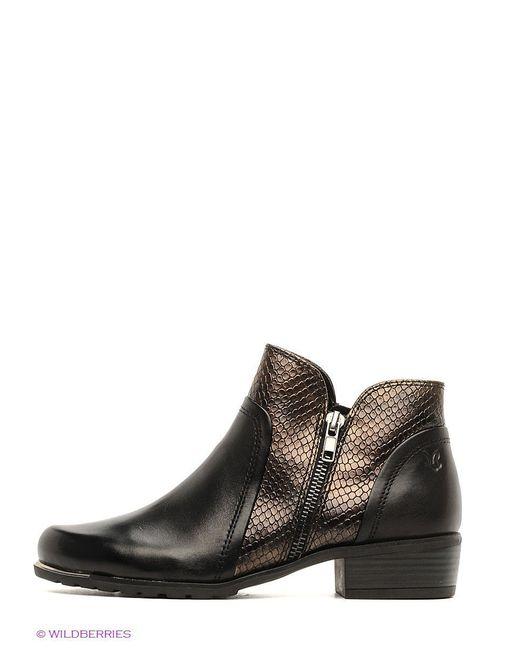 Ботинки Caprice                                                                                                              чёрный цвет