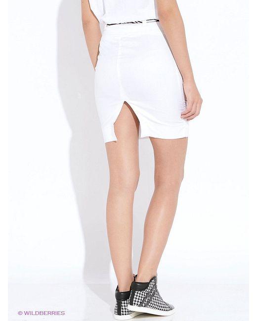 Юбки Oodji                                                                                                              белый цвет