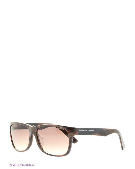 Солнцезащитные Очки Porsche Design                                                                                                              коричневый цвет