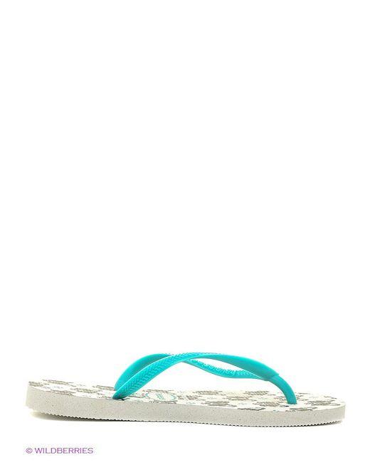 Шлепанцы Havaianas                                                                                                              белый цвет