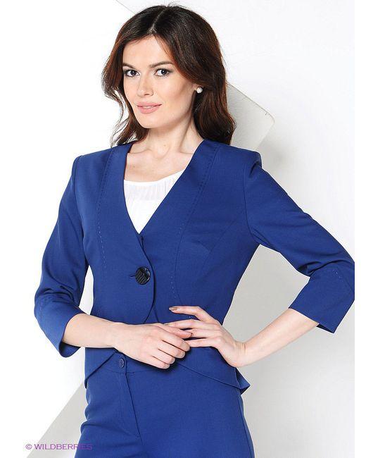 Жакеты Elena Shipilova                                                                                                              синий цвет