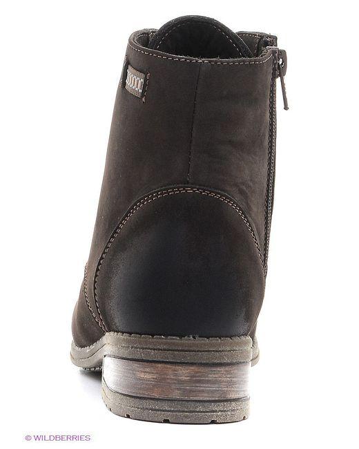 Ботинки Valley                                                                                                              коричневый цвет