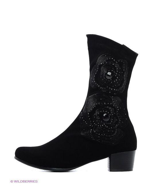 Ботинки Shelly                                                                                                              чёрный цвет