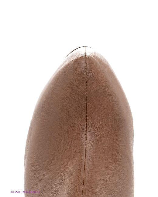 Ботильоны Shelly                                                                                                              коричневый цвет
