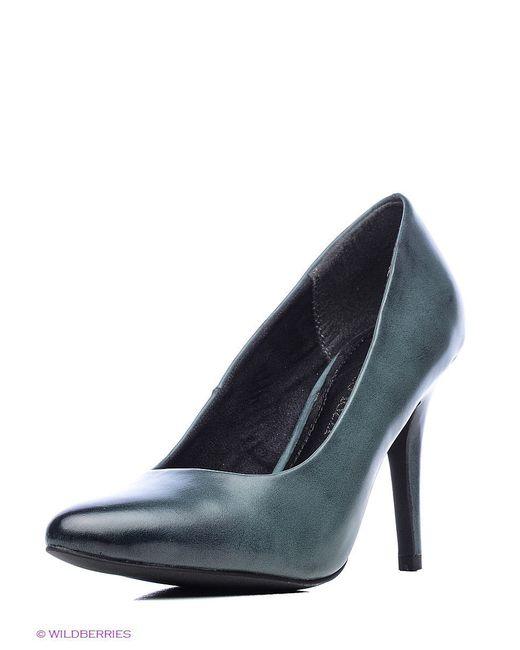 Туфли Marco Tozzi                                                                                                              зелёный цвет