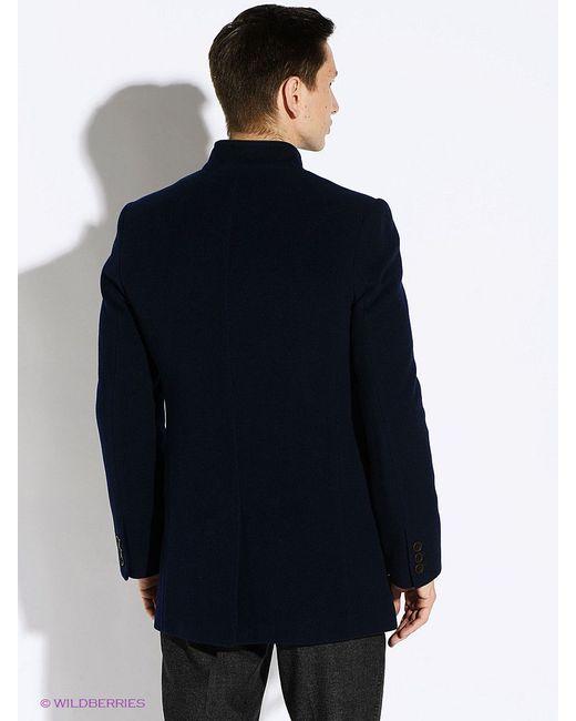 Пальто Berkytt                                                                                                              синий цвет