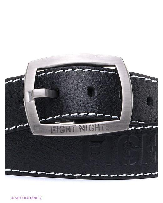 Ремни Fight Nights                                                                                                              чёрный цвет