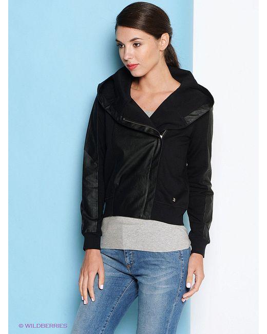 Куртки Trussardi                                                                                                              чёрный цвет