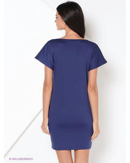 Платья La Via Estelar                                                                                                              синий цвет