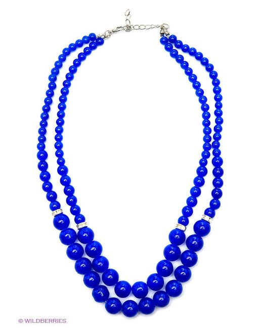 Колье Royal Diamond                                                                                                              синий цвет