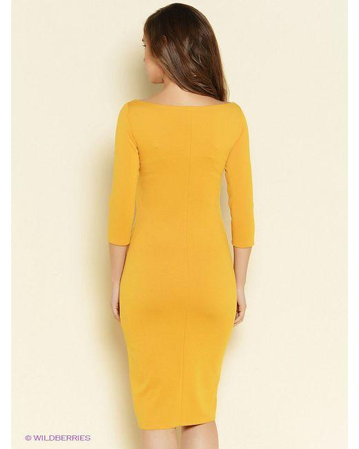 Платья Stets                                                                                                              Горчичный цвет