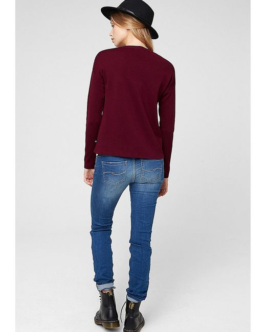 Джемперы s.Oliver                                                                                                              фиолетовый цвет