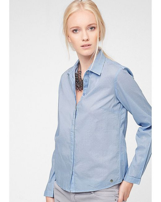 Блузки s.Oliver                                                                                                              голубой цвет