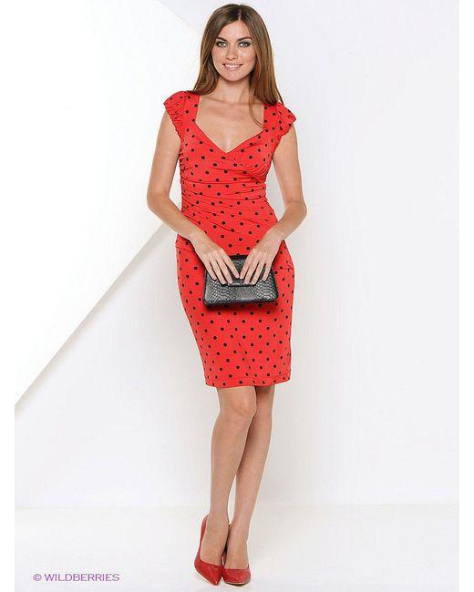 Платья Арт-Деко                                                                                                              красный цвет