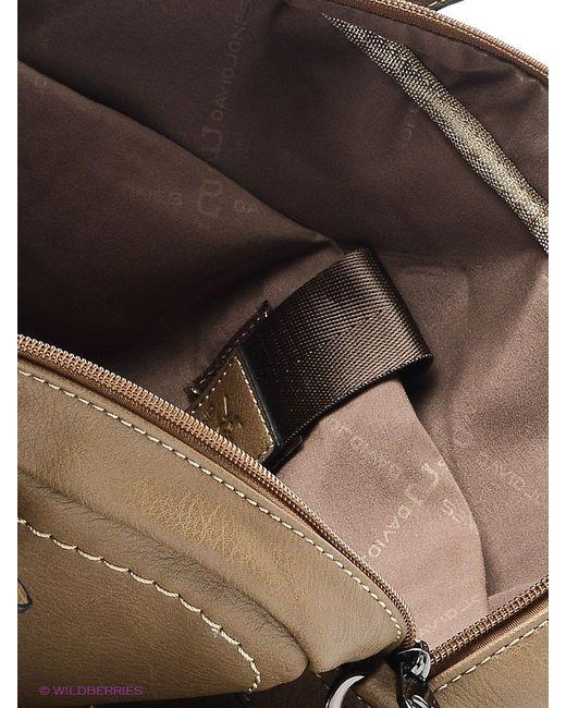 Сумки David Jones                                                                                                              коричневый цвет