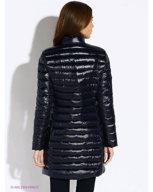 Пальто Tommy Hilfiger                                                                                                              синий цвет