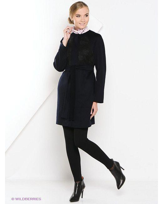 Пальто Estrade                                                                                                              чёрный цвет