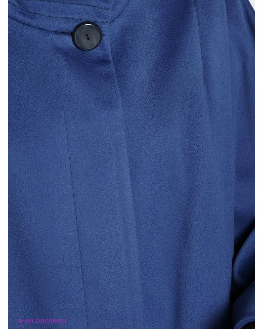 Пальто Estrade                                                                                                              голубой цвет