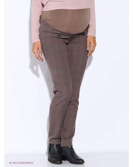 Брюки MammySize                                                                                                              коричневый цвет