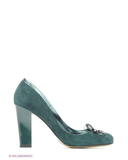 Туфли Moda Donna                                                                                                              зелёный цвет