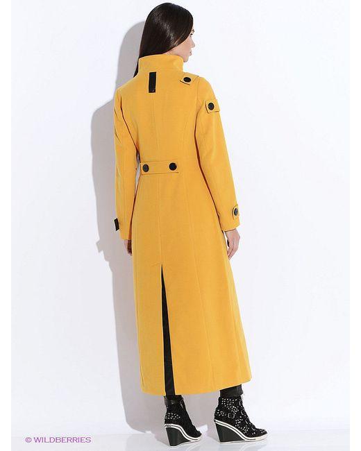 Пальто Doctor E                                                                                                              Горчичный цвет