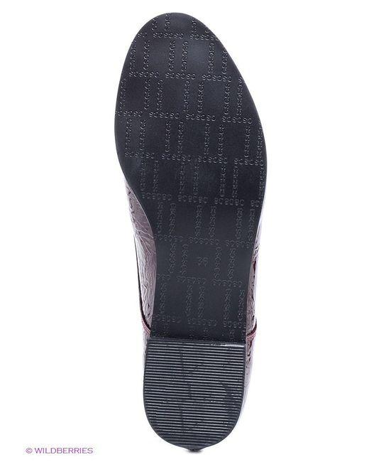 Ботинки Calipso                                                                                                              красный цвет