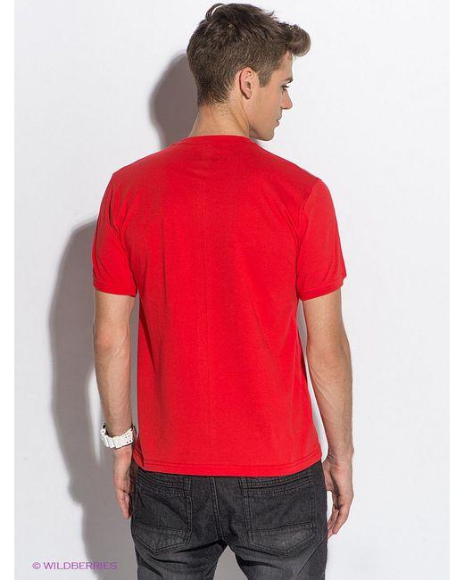 Футболка D.S                                                                                                              красный цвет