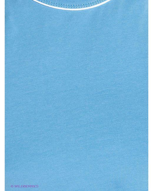 Футболки D.S                                                                                                              голубой цвет