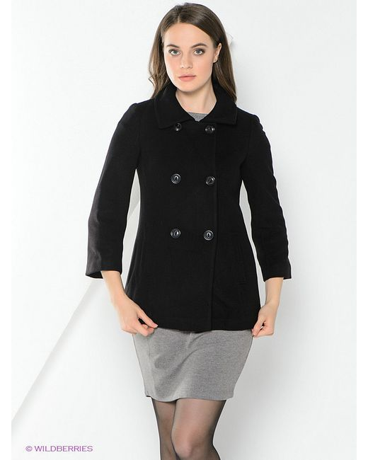 Пальто ADL                                                                                                              чёрный цвет