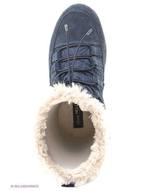 Сапоги Helly Hansen                                                                                                              синий цвет