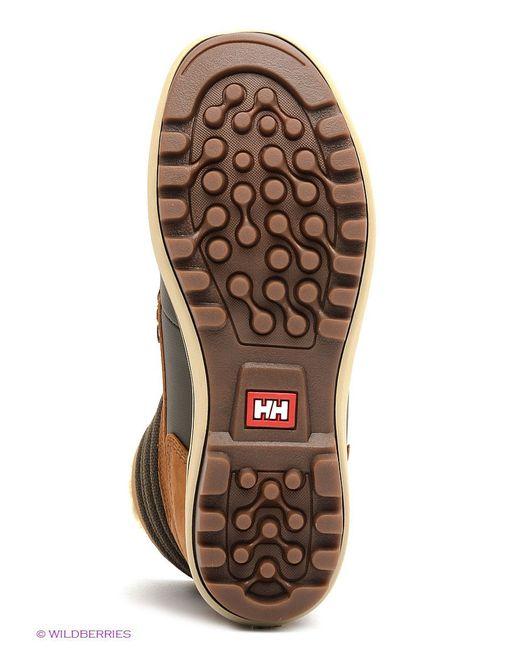 Сапоги Helly Hansen                                                                                                              коричневый цвет