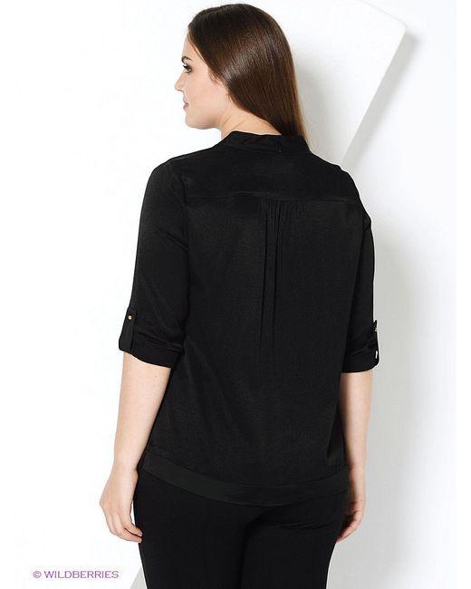 Блузки Violeta by Mango                                                                                                              чёрный цвет