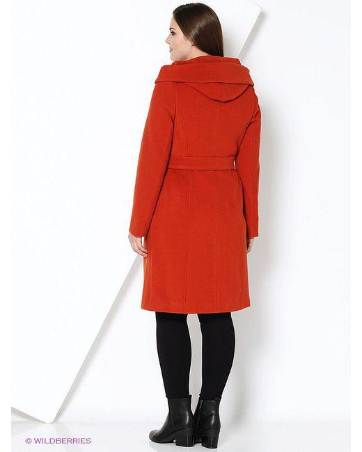 Пальто Electrastyle                                                                                                              Терракотовый цвет
