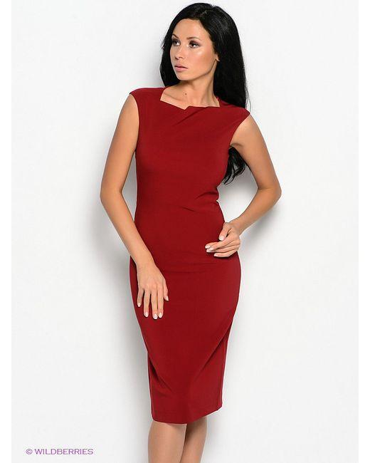 Платья Oodji                                                                                                              красный цвет
