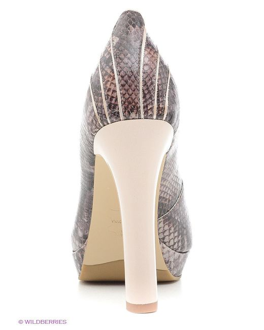 Туфли Moda Donna                                                                                                              коричневый цвет